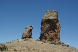 <strong>Roque Nublo, the orientation point of the island</strong>