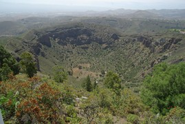 <strong>crater Calera de Bandama</strong>