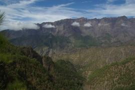 <strong>main crater, Caldera de Taburiente</strong>