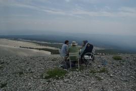 <strong>Mont Ventoux, dejeuner</strong>
