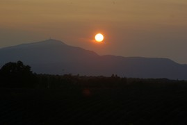 <strong>Mont Ventoux, sunset</strong>
