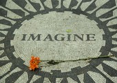 <strong>memorial John Lennon Imagine</strong>